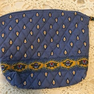 New vera Bradley cosmetic plastic lined bag